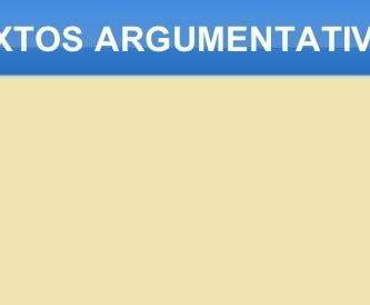 funcion de los textos argumentativos